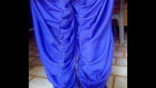 getlinkyoutube.com-khajoori (khajuri) salwar cutting and stitching  full video