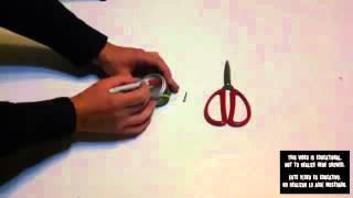 getlinkyoutube.com-طريقة سهلة جدا لعمل آلة غزل بنات