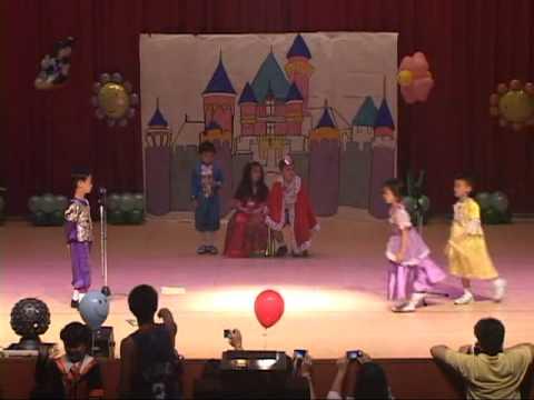 Cinderella by HoneyBee -2010 幼稚園英文話劇表演-
