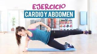 getlinkyoutube.com-Ejercicio de cardio y abdomen | 10 minutos