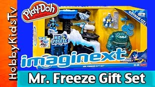 getlinkyoutube.com-Imaginext DC Batman Mr. Freeze Headquarters Gift Set HobbyKidsTV