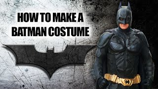 getlinkyoutube.com-How to build homemade Dark Knight Bat suit armor from scratch - Wellington Batman