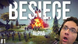CE JEU EST FANTASTIQUE! | Besiege alpha