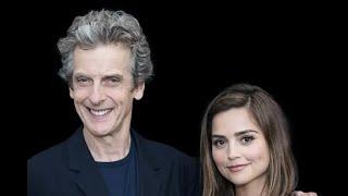 getlinkyoutube.com-Jenna Coleman and Peter Capaldi: Doctor Who Interview