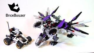 Lego Ninjago 70725 Nindroid MechDragon - Lego Speed build