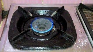 cara memperbaiki kompor gas yang nyalanya kecil
