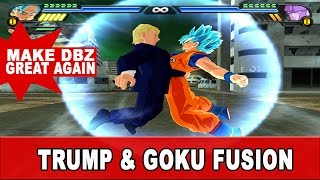 getlinkyoutube.com-Donald Trump and Goku Fusion | Ultimate Saiyan President | DBZ Tenkaichi 3 (MOD)