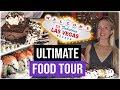 LAS VEGAS FOOD TOUR   Best Food In Las Vegas You NEED To Try