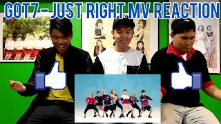 getlinkyoutube.com-GOT7 - 딱 좋아(JUST RIGHT) MV REACTION (FUNNY FANBOYS)