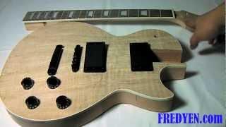 getlinkyoutube.com-DIY Les Paul Guitar Kit (Part 1: Overview)