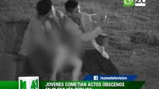 getlinkyoutube.com-CÁMARAS CAPTAN JÓVENES REALIZANDO ACTOS OBSCENOS EN PLENA VÍA PÚBLICA