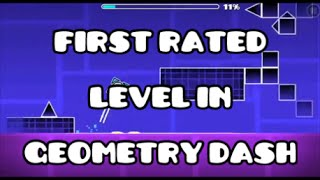 getlinkyoutube.com-FIRST RATED LEVEL IN GEOMETRY DASH!