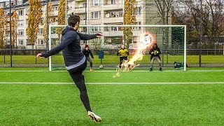getlinkyoutube.com-UNMÖGLICHE FUßBALL CHALLENGES !!