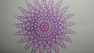 getlinkyoutube.com-How to make Spirograph patterns