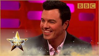 getlinkyoutube.com-Seth MacFarlane performs his Family Guy voices - The Graham Norton Show: Series 15 - BBC One