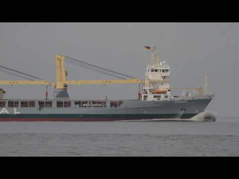 Click to view video WIEBKE - IMO 9197478 - Germany - Elbe - Otterndorf