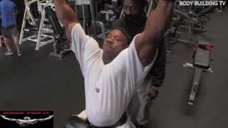 getlinkyoutube.com-Dexter Jackson   Back Workout 6 Weeks out from 2013 Mr  Olympia