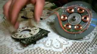getlinkyoutube.com-Motor bedini super potente mini 2ª parte con otro tipo de motor