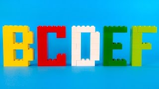 getlinkyoutube.com-How To Make Lego ALPHABET (Complete) - 10664 Lego Bricks and More Creative Tower Tutorial