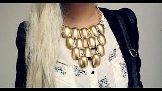 getlinkyoutube.com-DIY collar con cucharas plásticas