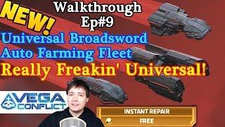 getlinkyoutube.com-Vega Conflict New Universal Broadsword Auto Farming Tutorial *Brutal*