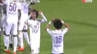 getlinkyoutube.com-أهداف مباراة النصر و العين: 28\11\2015 (دوري الخليج العربي الإماراتي)