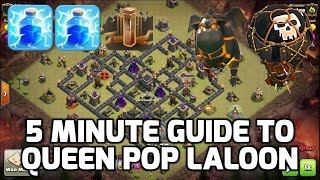 getlinkyoutube.com-Clash of Clans: 5 MIN GUIDE TO QUEEN POP LALOON! - MUST KNOW ATTACK STRATEGY | Mister Clash Gaming