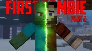 getlinkyoutube.com-First Zombie Part 2 - Minecraft Animation