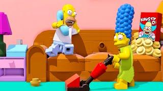 getlinkyoutube.com-LEGO Dimensions A Springfield Adventure Level Pack Walkthrough