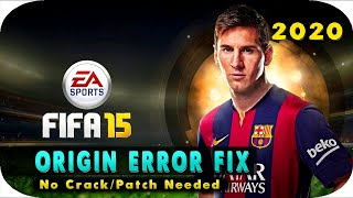 getlinkyoutube.com-FIFA 15 Origin Error Fix | No Crack needed | PC  - 2016