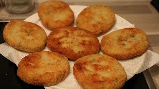 getlinkyoutube.com-Maakouda au thon : recette facile des galettes de pommes de terre au thon
