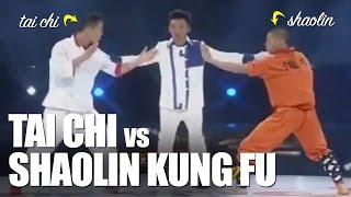 getlinkyoutube.com-Tai Chi vs Kung Fu Shaolin
