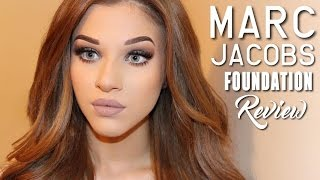 getlinkyoutube.com-Marc Jacobs Remarcable Foundation | Review, First Impressions & Demo