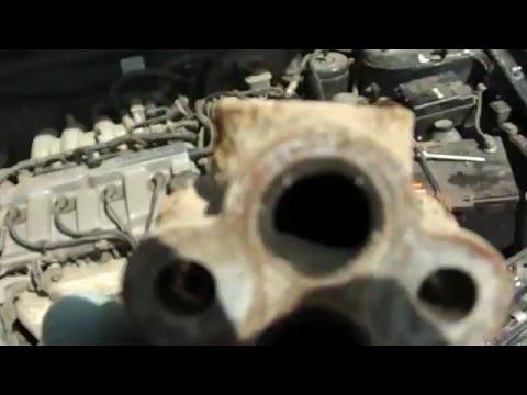 Mazda 626 GF Снятие ЕГР
