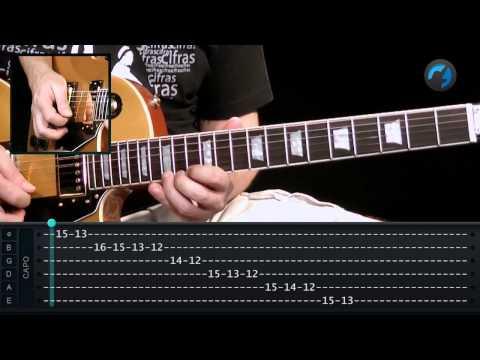 Escala Menor Mel�dica - D� Menor (aula t�cnica de guitarra)