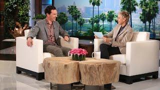 Benedict Cumberbatch and Ellen