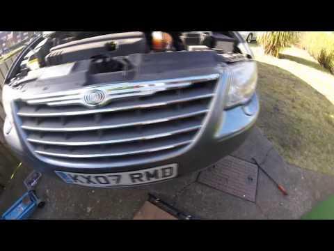 Часть 1 Как снять коробку автомат Chrysler Dodge 2 8 crd 3 3 \ part 1 How to remove  gearbox
