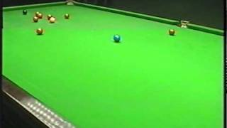 Snooker use the top cushion