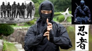 getlinkyoutube.com-NINJA Ninjitsu - Timeless Assassins in Black: Parkour, Stealth, Training, Weapons!