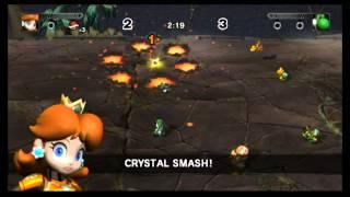 getlinkyoutube.com-Mario Strikers Charged: Thunder Island (Daisy vs Yoshi) [1080 HD]