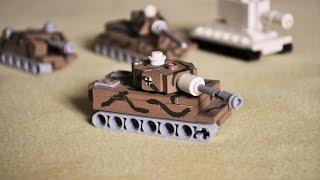 getlinkyoutube.com-Lego WW2 mini TIGER 1 instructions