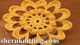 getlinkyoutube.com-Crochet 12-Petal Flower Tutorial 89