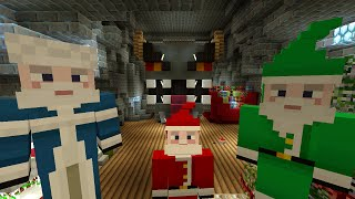 getlinkyoutube.com-Minecraft Xbox Lets Play - Survival Madness Adventures - Christmas Special Krampus Boss [183]