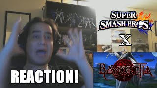 getlinkyoutube.com-LIVE REACTION! Super Smash Bros. - Bayonetta Trailer
