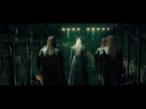 The Hobbit: An Unexpected Journey Extended Edition - Thranduil in Erebor