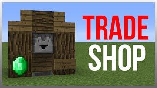 Minecraft 1.11: Redstone Tutorial - Best Trading System!