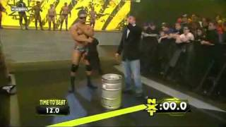 getlinkyoutube.com-WWE NXT 4/6/10 The Keg Carrying Challenge