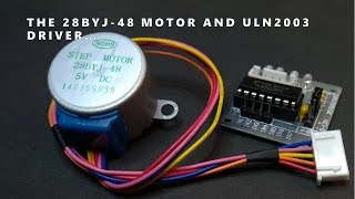 getlinkyoutube.com-28BYJ-48 Stepper Motor and ULN2003 Driver Intro
