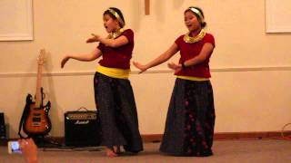 getlinkyoutube.com-Christmas Program 2013.  Dance performed by Sunita Rai and Mamata Tamang. Aaja Christ ko [HD[