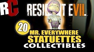 getlinkyoutube.com-Resident Evil 7 - All 20 Mr. Everywhere Statue Locations (Mr. Nowhere Achievement / Trophy)